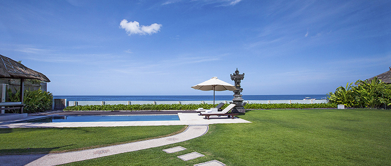 Ashling Villa Swimming Pool  with Sea View